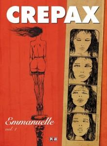 A obra em quadrinhos inspirados ao livro de Emanuelle Arsan do desenhista italiano Guido Crepax