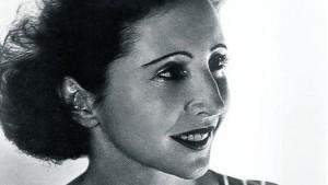 A escritora Anais Nin
